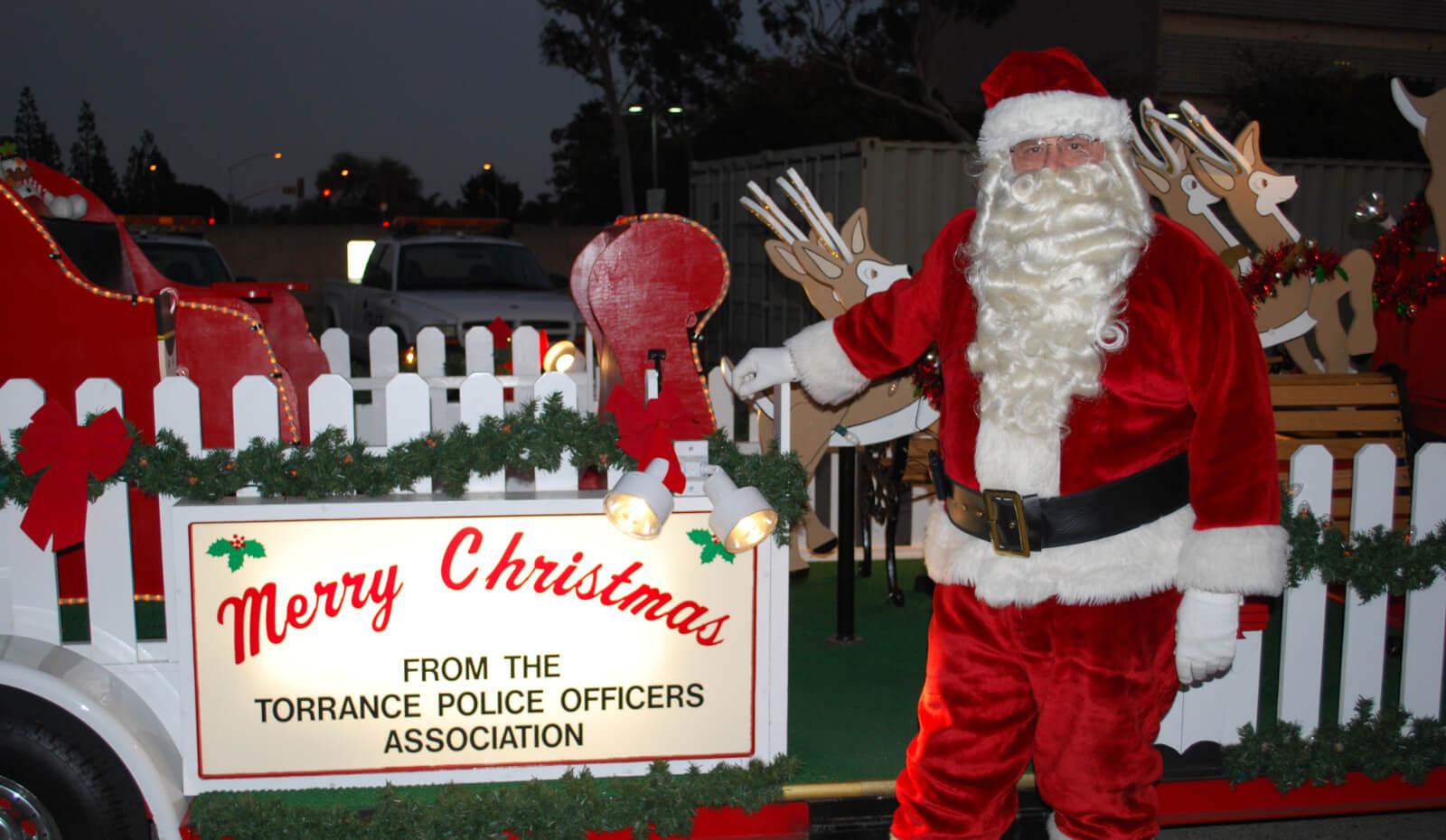 Santa Float Schedule