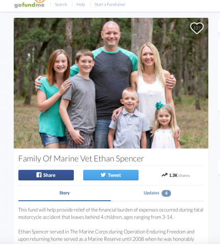 Officer's family needs your support